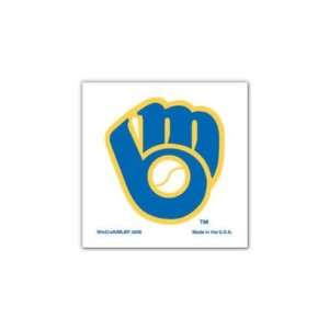 MILWAUKEE BREWERS OFFICIAL LOGO TATTOO 4 PACK: Sports