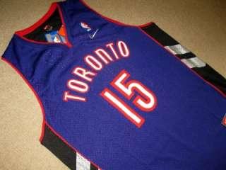 NBA VINCE CARTER Toronto Raptors Away Swingman jersey size LARGE New