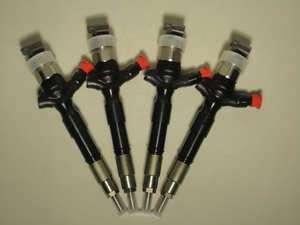 4pcs. 06 11 Hilux Hiace VIGO FORTUNER 3.0 diesel fuel injector 23670