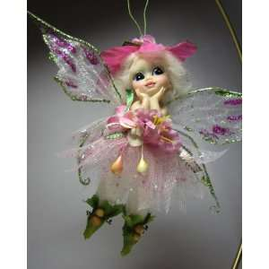 Little Flower Fairy   Fantasy Pink Flower Fairy