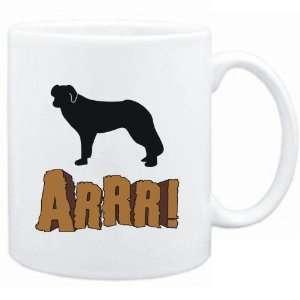 Mug White  English Shepherd Dog  ARRRRR!!!  Dogs