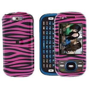 Design Phone Case Cover Black and Hot Pink Zebra For Samsung Exclaim