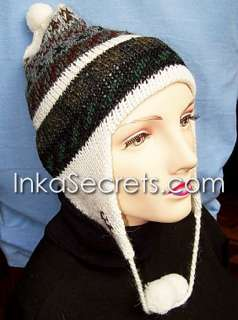 WHOLESALE LOT 25 Alpaca Wool Chullo Ear Flap Hat