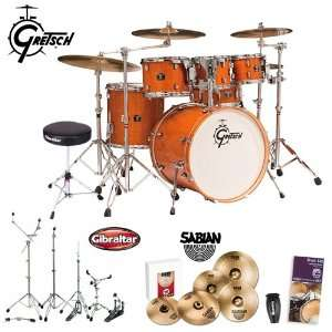 Gretsch New Catalina Maple Amber (CMT E825P AMB) 6 Piece