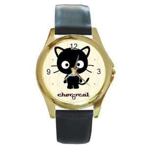 Chococat black cat v21 Gold Metal Watch