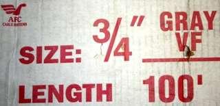 AFC Cable Ameri Tite Steel Flexible Conduit 3/4x 100ft