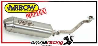 Scarico Completo Arrow Reflex Marmitta Inox Suzuki Burgman 200 K7 2007