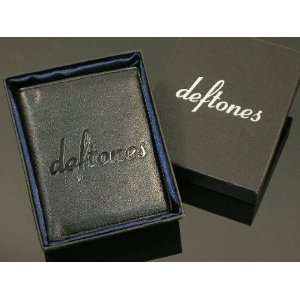 DEFTONES BILFOLD BRAND NEW High quality artificial leather GIFT WALLET
