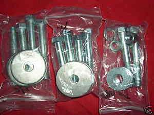68 69 70 71 Chevelle El Camino Conv body mount bolt kit