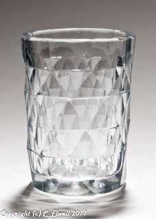 Set 6 Georgian Antique Anglo Irish Cut Glass Drinking Tumblers c.1835