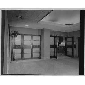 Photo Hotel New Yorker. Entrance to large ballroom 1960