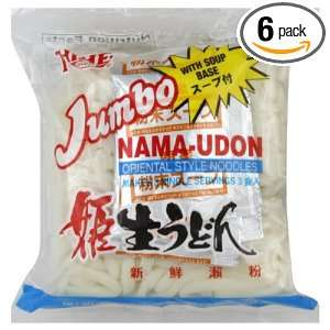 Hime Nama Udon Noodl with Soup, 20.82 Ounce (Pack of 6)