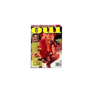 Oui Magazine September 1991 (Cover Girl Rachel: Blonde