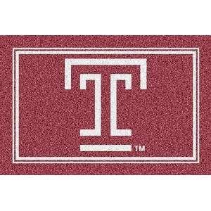 Temple Owls T 4 x 6 Team Door Mat: Sports & Outdoors