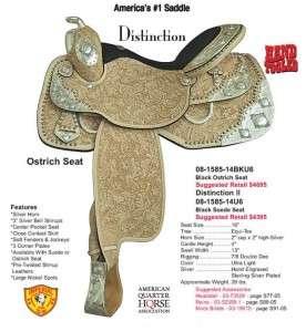 NEW Tex Tan Distinction Show Saddle 815864U6 16 |