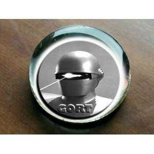 * GORT * The Day The Earth Stood Still GlassPaperweight