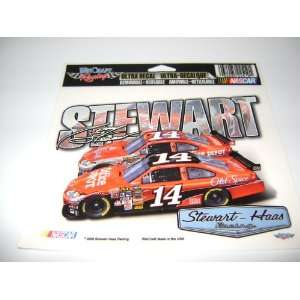 TONY STEWART ULTRA DECALS 5X6 FULL COLOR Everything
