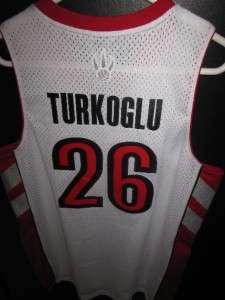 MENS M NEW SEWN AUTHENTIC HEDO TURKOGLU TORONTO RAPTORS NBA