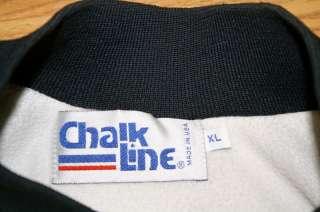 Vintage Troy Aikman Dallas Cowboys Chalk Line Jacket NFL XL X Large