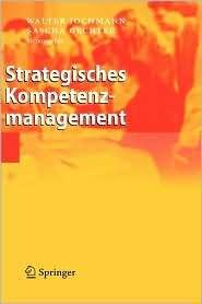 Strategisches Kompetenzmanagement, (3540279660), Walter Jochmann