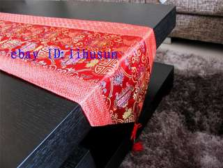 Noble Classic CHINESE SILK TABLE RUNNER CLOTH