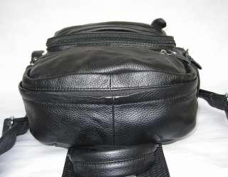 Men/Ladies Genuine Cowhide Leather Travel Bag/Backpack  B1