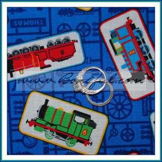 BOOAK Fabric Thomas the Tank Train Engine Baby Boy Cotton Quilt Toy