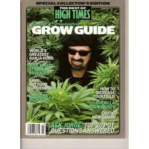 of High Times Magazine, Jorge Cenvantes GROW GUIDE (#46 2007): Books