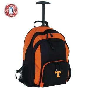 Mercury Luggage Tennessee Volunteers Orange & Black Wheeled Backpack