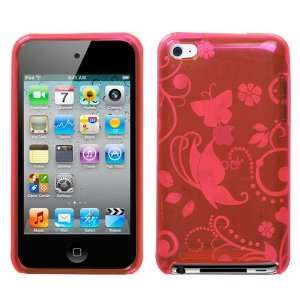 Apple iPod Touch 4 4G Pink Secret Garden Candy Skin Case