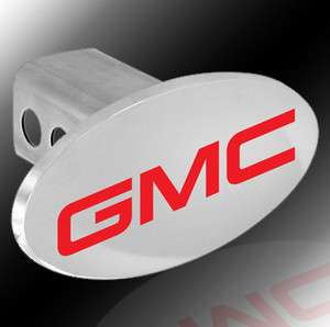 GMC®* Trailer Tow *CHROME* Hitch Cover Plug