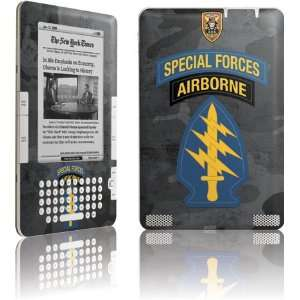 Special Forces Airborne skin for  Kindle 2