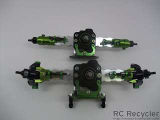 Hopped Up Axial AX10 SCX10 Axle Set Scale Rock Crawler