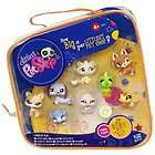 Littlest Pet Shop Collectors Pack 8 Pets Dogs Cats Rab
