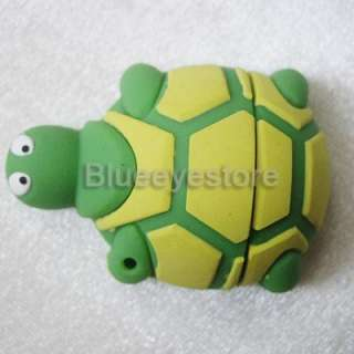 Fashion Tortoise cartoon USB Flash Memory Pen Drive 4GB