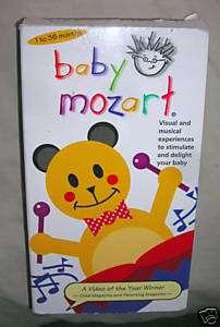 BABY EINSTEIN VHS BABY MOZART