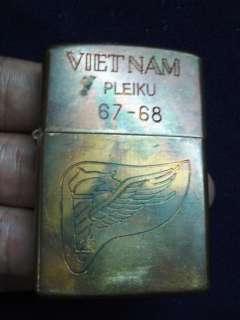 Original Vietnam War Zippo 1967 68 US Army (CA)
