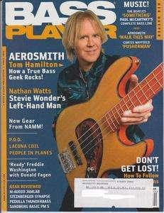 Player Magazine (April 2006) Aerosmith Tom Hamilton / Nathan Watts