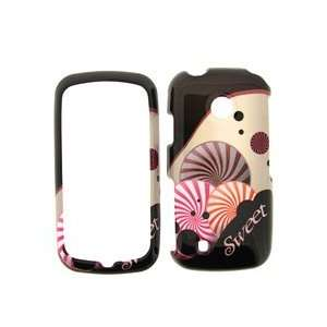 LG Cosmos Touch Black with Pink and Purple Sweet Candy