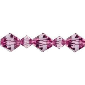 Cousin Jewelry Basics 35 Piece Acrylic Purple Bicone Mixed