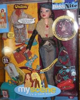 New 2004 Barbie Doll My Scene Chelsea Day & Night Doll
