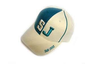 SAN JOSE SJ TEAL GREEN BASEBALL CAP/HAT ONE SIZE VELCRO