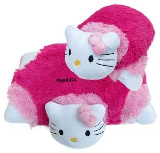 New Hello Kitty Pillow Pet Plush Transforming Pad Cushion Doll Toy