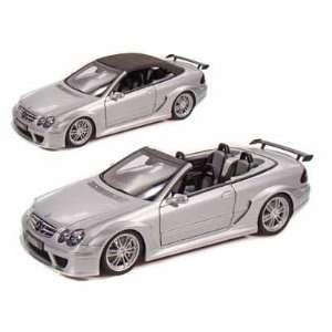 Mercedes Benz CLK DTM AMG Cabriolet 1/18 Silver Toys