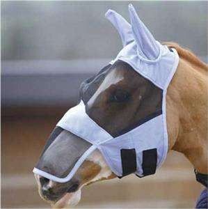 Full Face FLY Mask/Hood/Veil with nose S,M,L BLK & BLUE