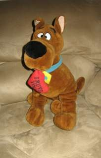 Jumbo 20 Hanna Barbera Scooby Doo I Ruve You Plush