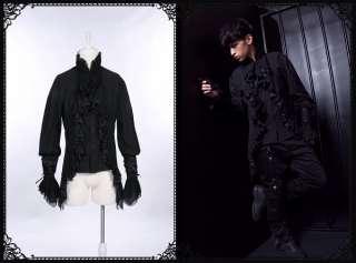 Goth Visual Royal Medieval Celtic Bard Marquis aristocrat dress shirt