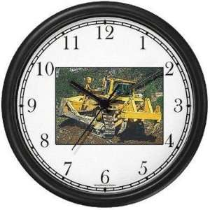 JP6) Wall Clock by WatchBuddy Timepieces (White Frame): Home & Kitchen
