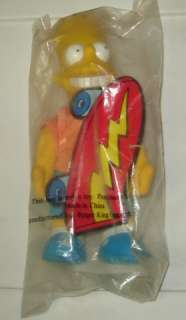 1990 Burger King Exclusive Bart Simpson Doll MIP New MT