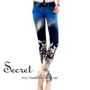 Marilyn Monroe pencil jeans women Korean tight stovepipe stretch jean